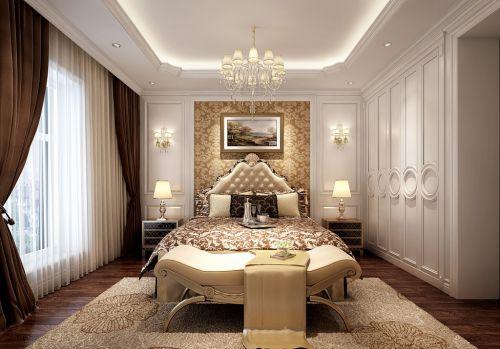 简欧风格六居室卧室吊顶装修效果图
