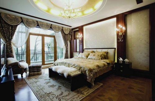 简欧风格四居室卧室装修图片