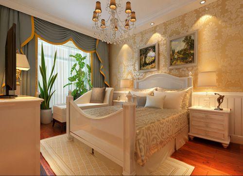 简欧风格四居室卧室装修图片欣赏