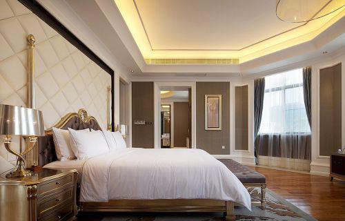 简欧风格四居室卧室组合柜装修效果图欣赏