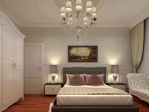 简欧风格别墅卧室装修图片欣赏