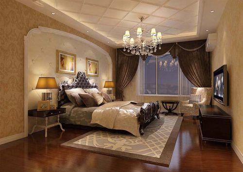 简欧风格四居室卧室走廊装修效果图大全