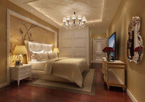 简欧风格四居室卧室隔断装修效果图欣赏