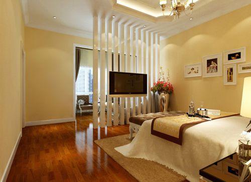 简欧风格五居室卧室照片墙装修效果图