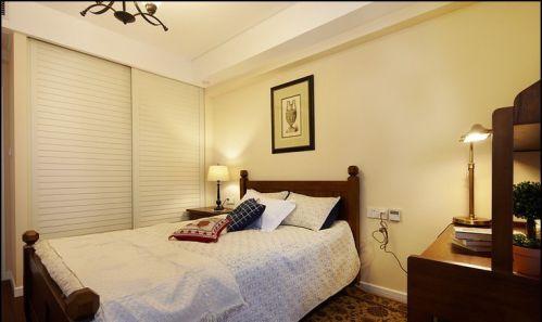 简欧风格三居室卧室电视柜装修效果图大全