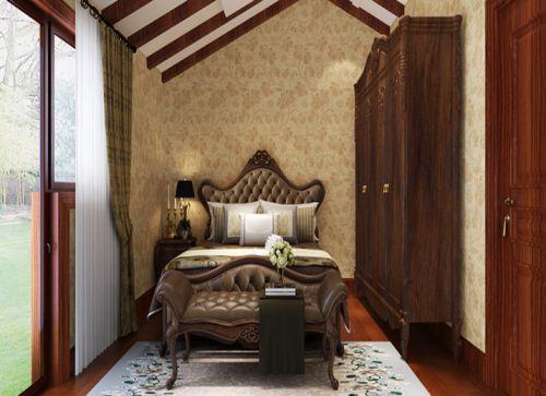 简欧风格四居室卧室榻榻米装修效果图