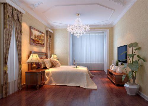 简欧风格跃层卧室装修图片欣赏