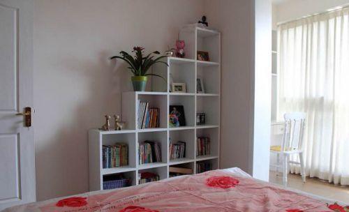 简欧风格一居室卧室组合柜装修图片