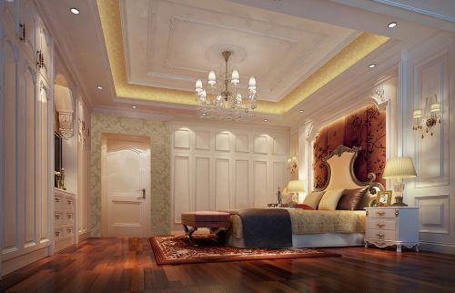 简欧风格二居室卧室照片墙装修效果图大全