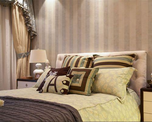 简欧风格二居室卧室吊顶装修效果图