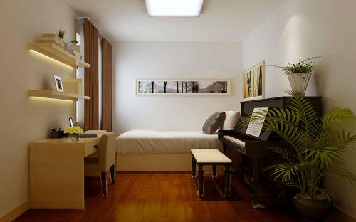 简欧风格二居室卧室榻榻米装修效果图