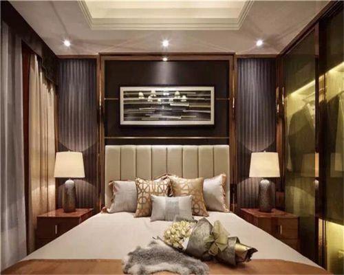 简欧风格二居室卧室床头柜装修效果图大全