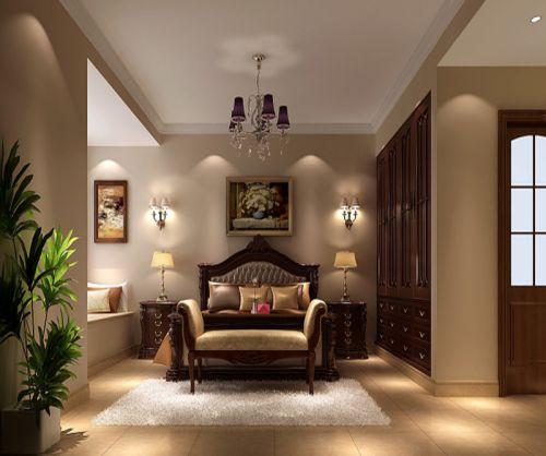 简欧风格四居室卧室照片墙装修效果图大全