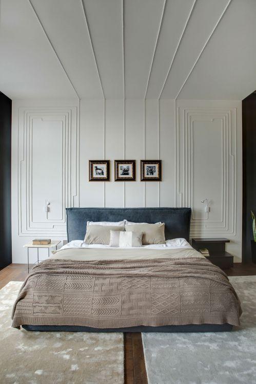 干净大方简欧风格时尚卧室装修图片