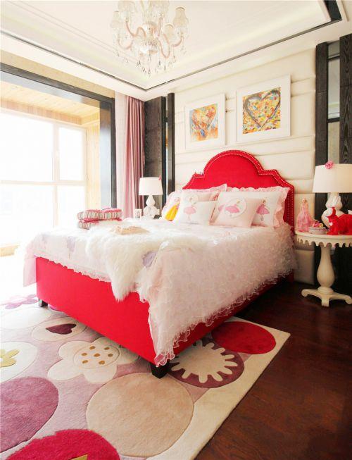 时尚中式风格卧室背景墙效果图