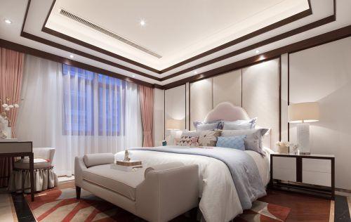 悠扬意境中式风格卧室装修实景图