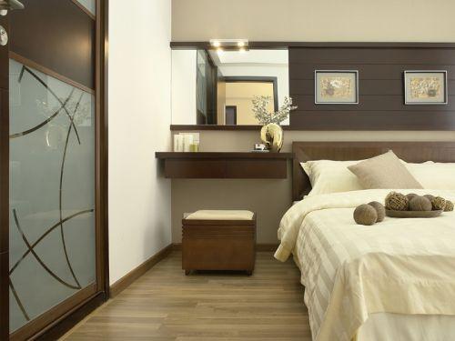 中式古典三居室卧室吊顶装修效果图欣赏
