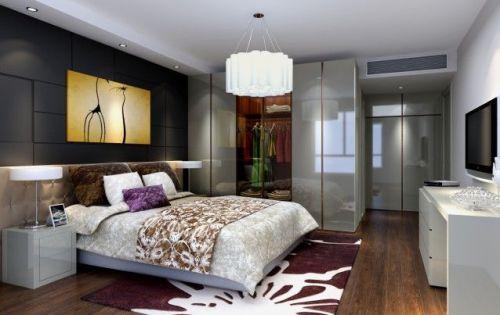 中式古典四居室卧室沙发装修效果图
