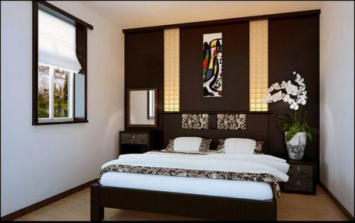 中式古典三居室卧室装修效果图欣赏