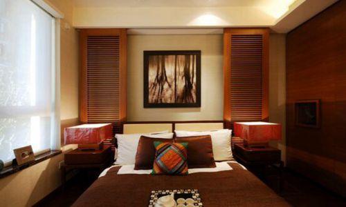 新中式三居室卧室榻榻米装修效果图欣赏