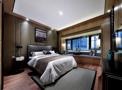 中式古典五居室卧室装修图片欣赏