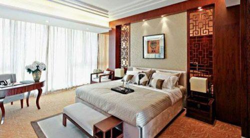 中式古典四居室卧室装修效果图欣赏