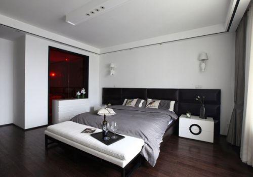 中式风格二居室卧室装修图片欣赏