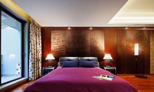 奢华中式风格公寓卧室效果图欣赏