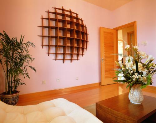中式三居室卧室装修效果图