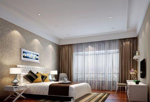 中式风格五居室卧室床头柜装修效果图大全