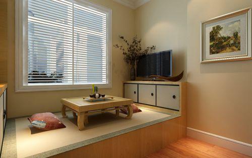 中式风格三居室卧室榻榻米装修效果图大全
