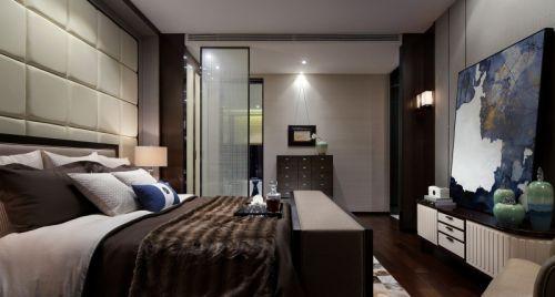 中式风格二居室卧室灯具装修效果图大全