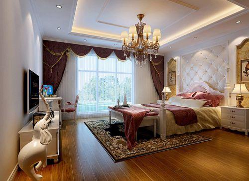 中式风格二居室卧室榻榻米装修效果图大全