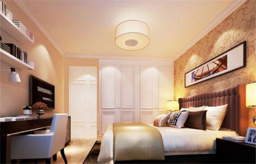 中式风格五居室卧室吊顶装修效果图欣赏