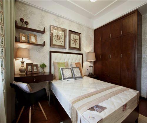 中式古典五居室卧室榻榻米装修效果图大全