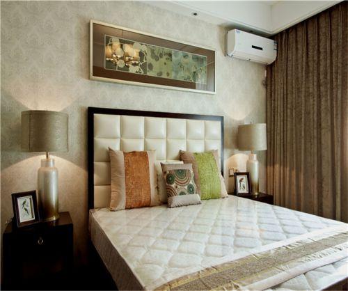 中式古典五居室卧室梳妆台装修图片