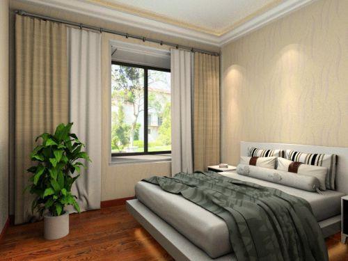 中式古典三居室卧室吊顶装修图片