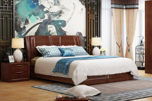 中式风格古典优雅韵味卧室装修效果图