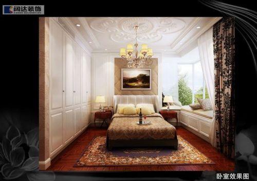 欧式古典二居室卧室装修图片欣赏