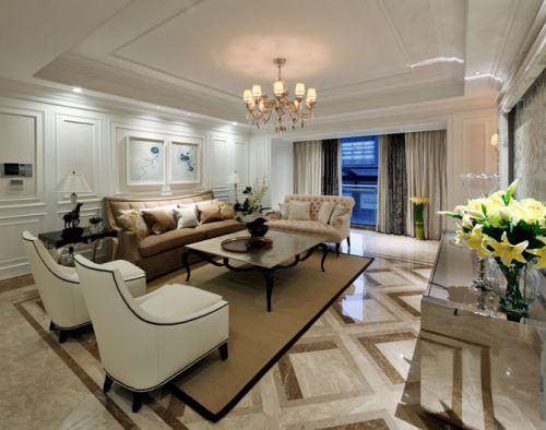 现代简约欧式二居室卧室装修图片欣赏