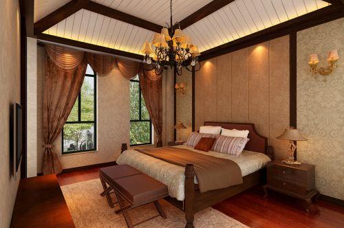 古典欧式风格一居室卧室装修效果图