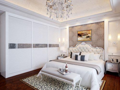 时尚欧式风格卧室衣柜效果图欣赏