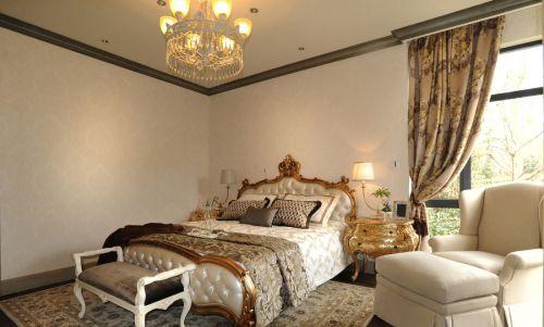 家装欧式风格卧室床头柜效果图大全
