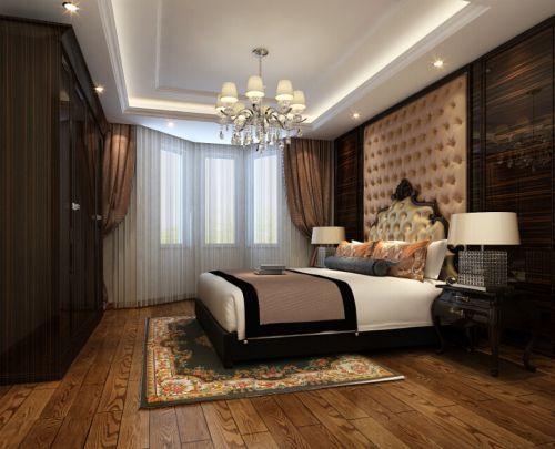 欧式风格二居室卧室装修效果图大全