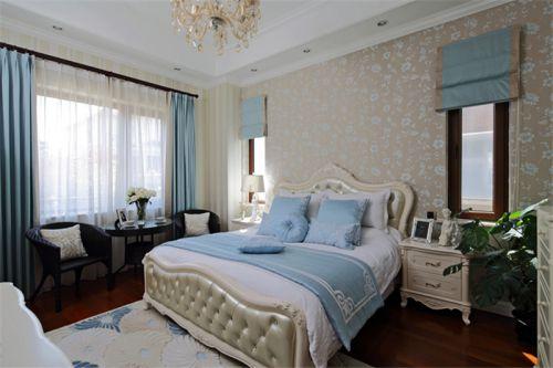 现代欧式别墅卧室装修效果图