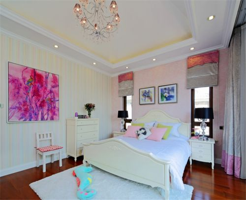 现代欧式别墅卧室装修效果图欣赏