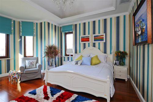 现代欧式别墅卧室装修图片欣赏