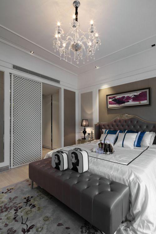 典雅浪漫欧式风格卧室灯具装修效果图