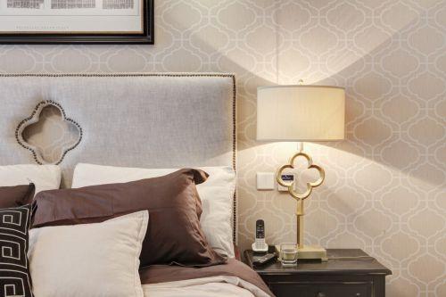 气质优雅欧式风格卧室灯具装修图片