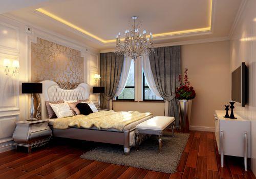 欧式风格四居室卧室装修效果图大全